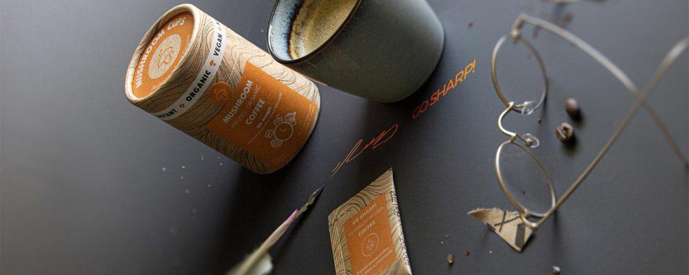 Mushroom Cups – Café con setas