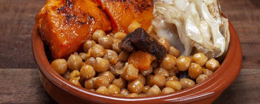 Cocido vegano en Madrid
