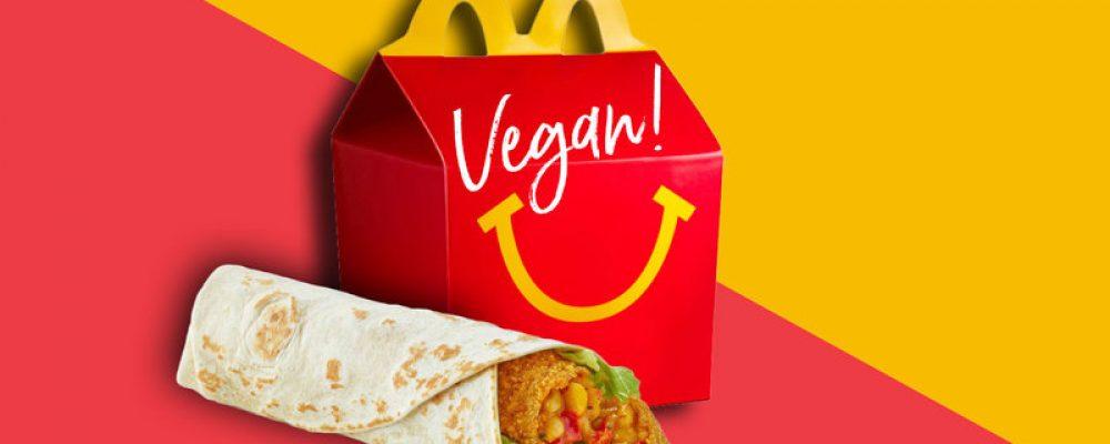 McDonald´s lanza un Happy Meal vegano