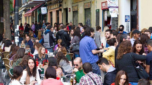Restaurantes veganos con terraza en Madrid